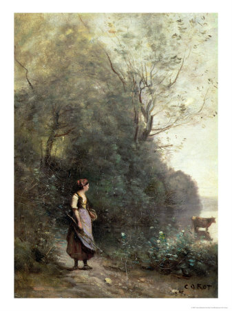 Jean Baptiste-Camille Corot's Peasant Woman